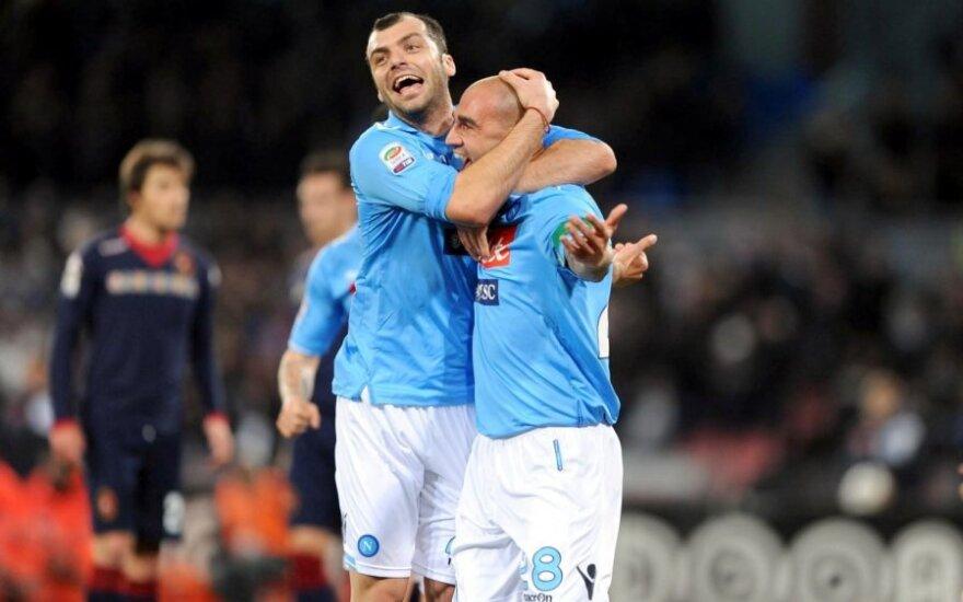 Goranas Pandevas ir Paolo Cannavaro