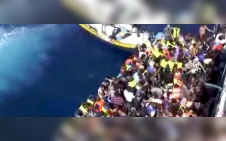 ES kovos su migrantų kontrabandininkais operacija pavadino išgelbėtos mergaitės vardu