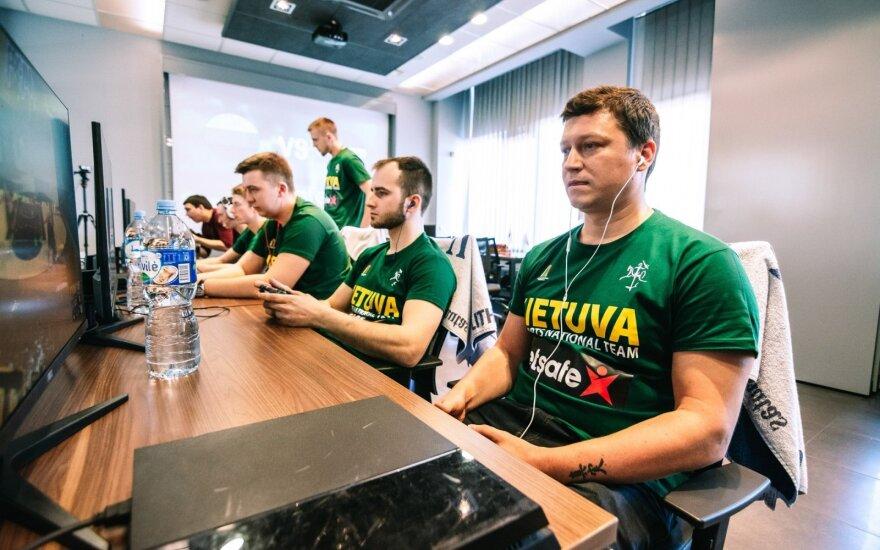 Esporto krepšinio akistata: Lietuva - Latvija
