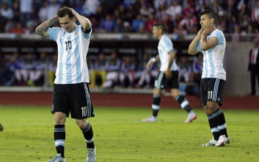 Lionelis Messi ir Sergio Aguero