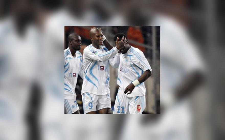 """Djibrilis Cisse ir Mamadou Niangas (""""Marseille"""")"""