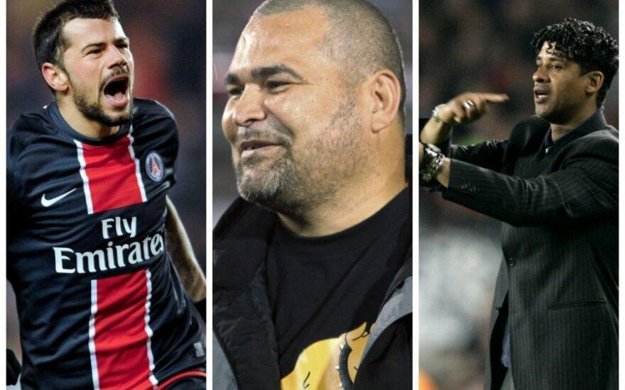 Mateja Kežmanas, Jose Luisas Chilavertas, Frankas Rijkaardas (AP, Reuters ir AFP nuotr.)
