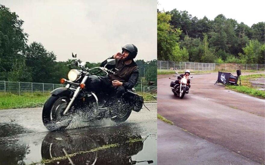 Lietuvis motociklininkas pradžiugino rekordais: pasiekė ir Lietuvos, ir du pasaulio