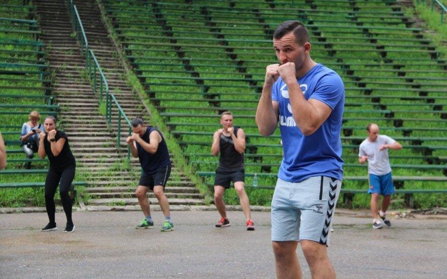 Garsiausias Lietuvos boksininkas dienai taps treneriu