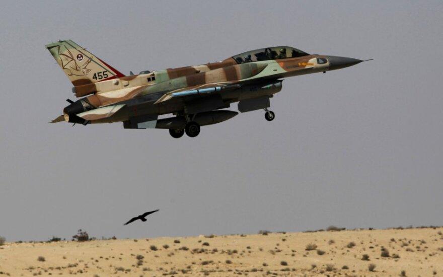 Izraelio naikintuvas F-16