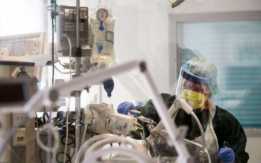 Vokietijoje koronaviruso aukų skaičius viršijo 2 tūkst.