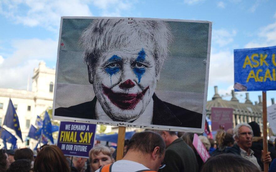 Brexit protestas