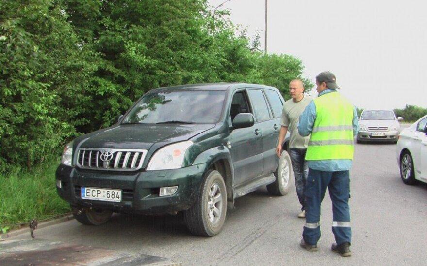 Alkoholį ir vairavimą derinę vairuotojai nuskubėjo tiesiai į Klaipėdos pareigūnų rankas