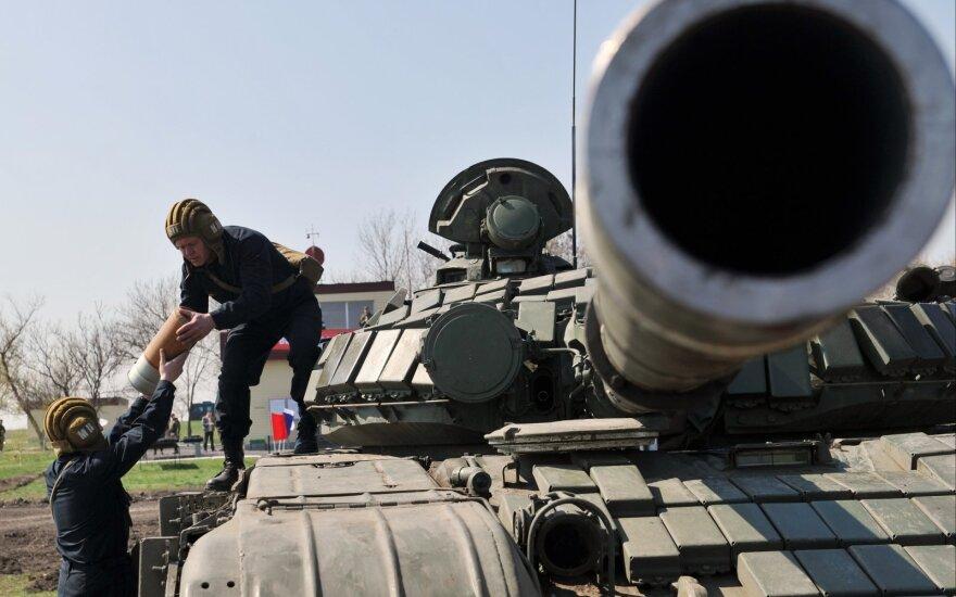 Rusiškas tankas T-72 B1