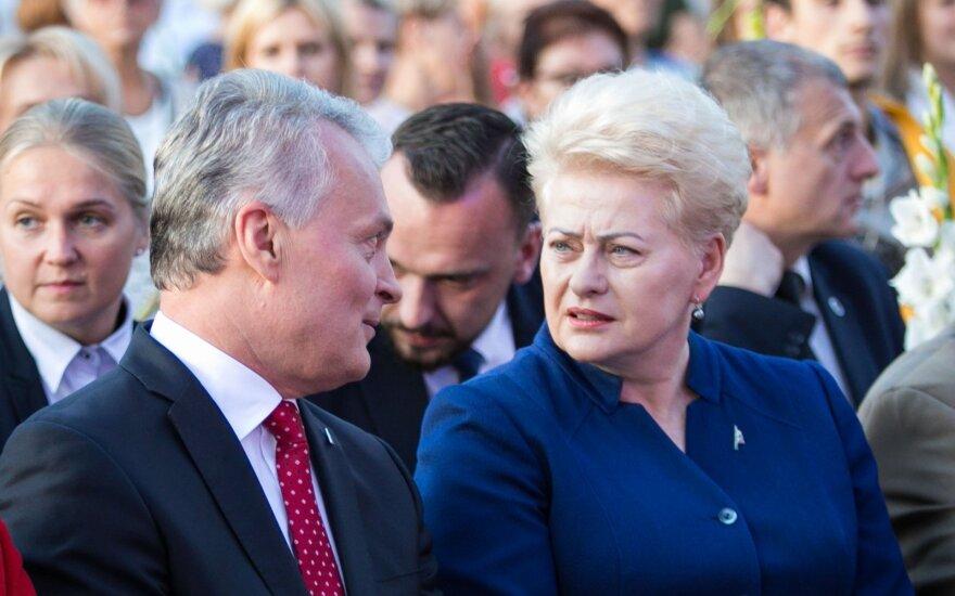 Gitanas Nausėda, Dalia Grybauskaitė