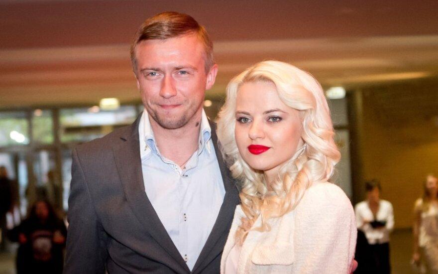 Marius Jampolskis ir Renata Uzialkaitė