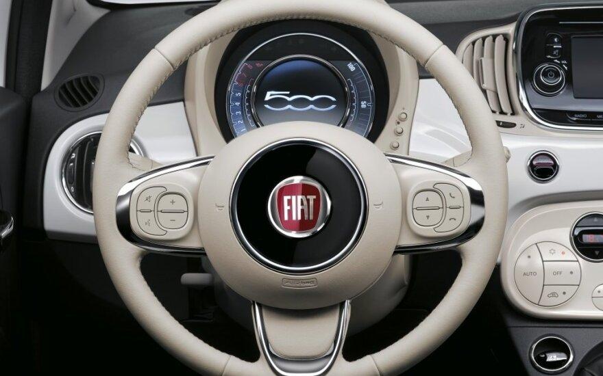 """""""Fiat Chrysler"""" paviešinus statistiką, akcijų vertė ėmė kilti"""