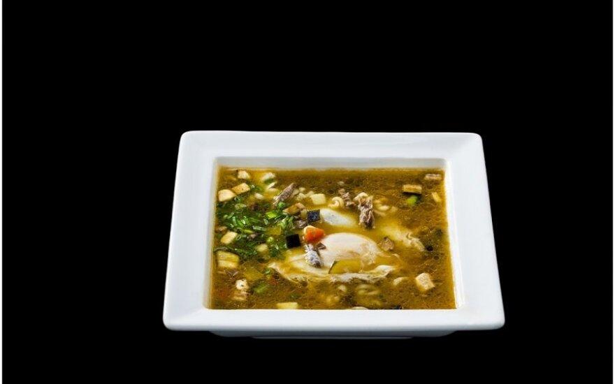 Maistingoji Gyuniku Ramen sriuba