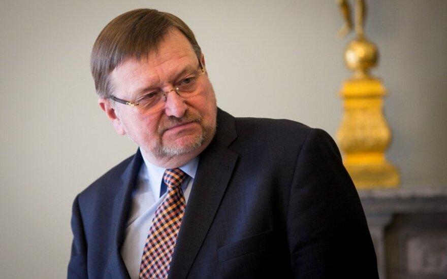Minister of Justice Juozas Bernatonis