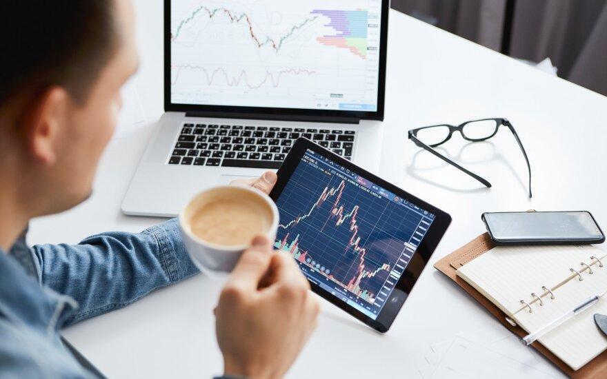 """""""Biržos laikmatis"""": savaitė akcijų biržose prasidėjo kainų raliu"""