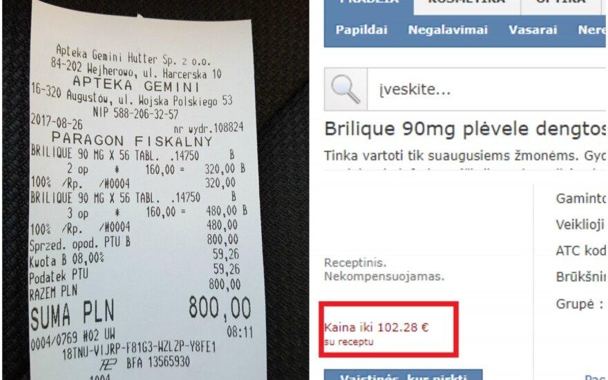 Vaistų kainos skirtumas Lietuvoje ir Lenkijoje šokiravo: nežinau, kaip tai pateisinti