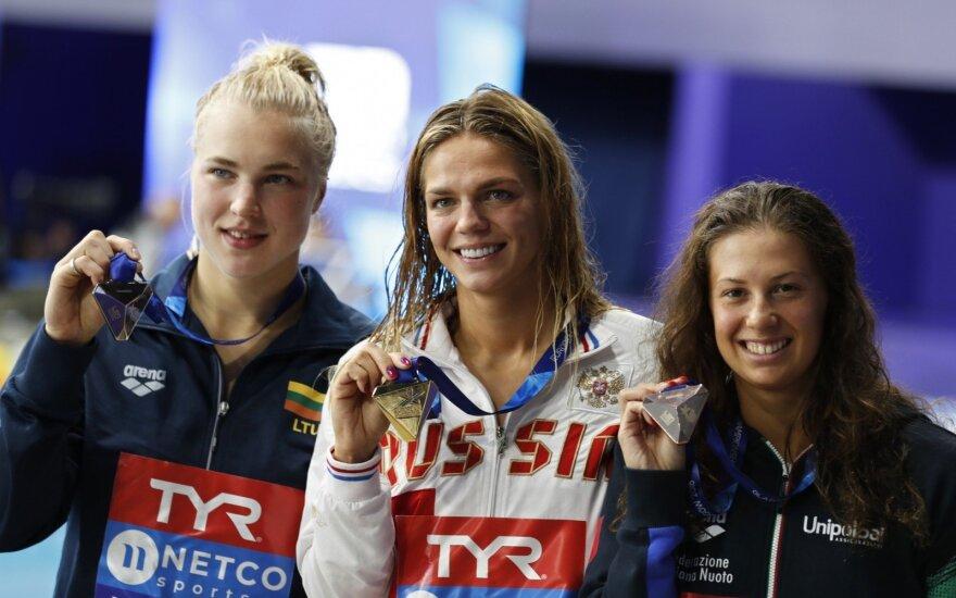 Jungtinio Europos čempionato medalių įskaitoje Lietuva yra 19-a, pirmauja Rusija