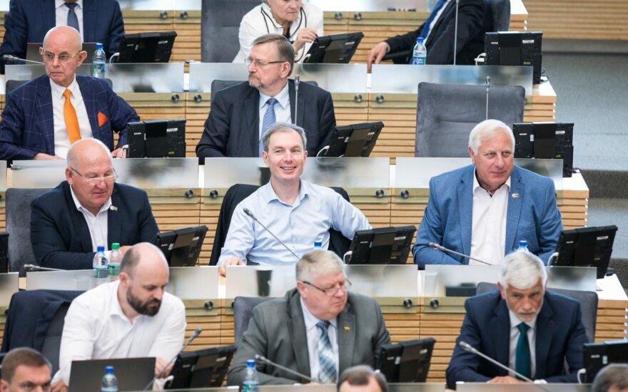 Seimas apsispręs dėl mokesčių reformos