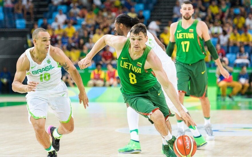 First basketball match in Rio attracts record TV audience in Lithuania