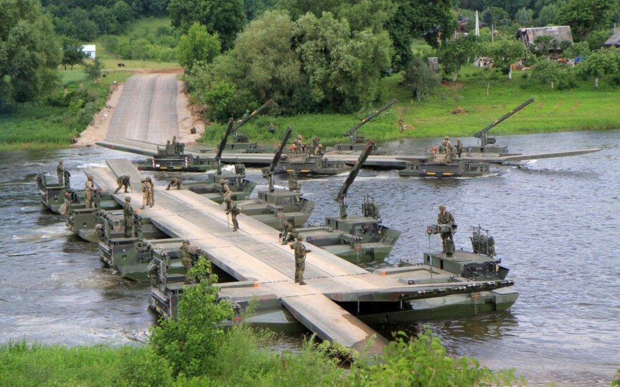 Public will be able to watch part of military exercises in Lithuania in June