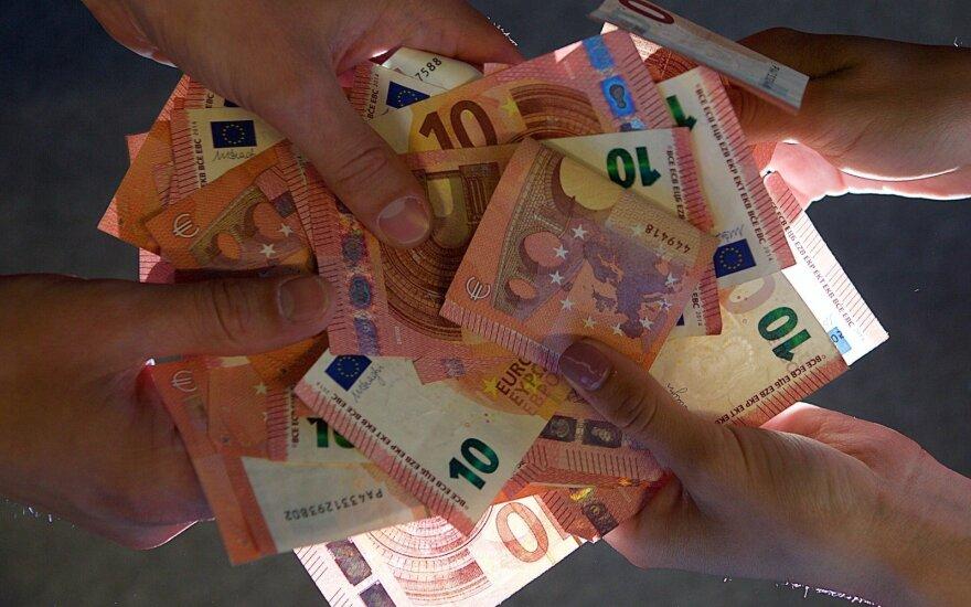 Vokietijos skolinimasis pernai pasiekė rekordines aukštumas