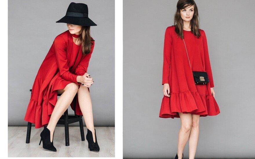 T. Jankauskaitės rudens-žiemos suknelių linija