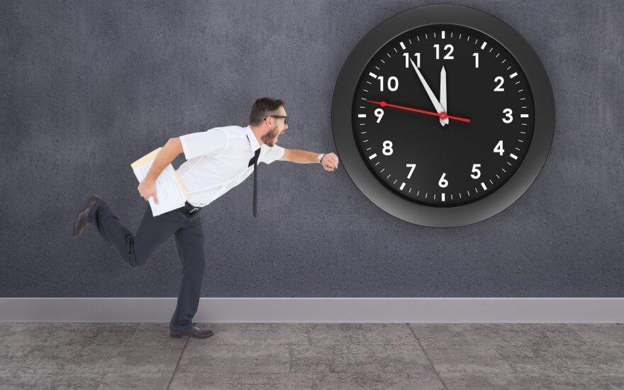 4 paprasti, bet labai praktiški patarimai, kaip nustoti visur vėluoti