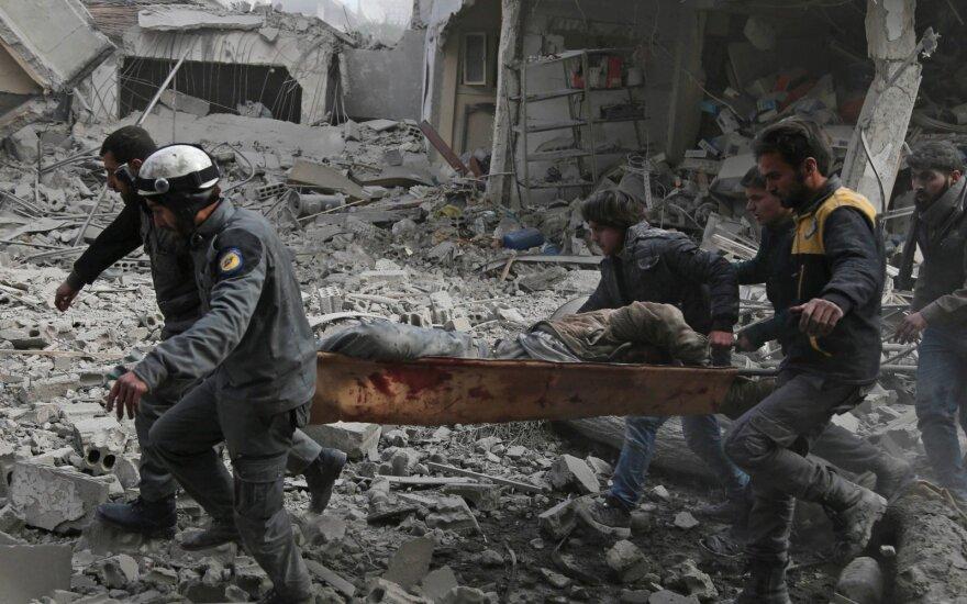 Padėtis apsiaustame anklave Sirijoje – sunkiai suvokiama