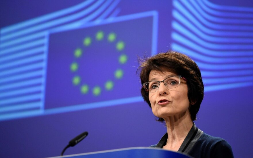 Lietuvoje lankosi už užimtumą, socialinius reikalus atsakinga eurokomisarė Marianne Thyssen