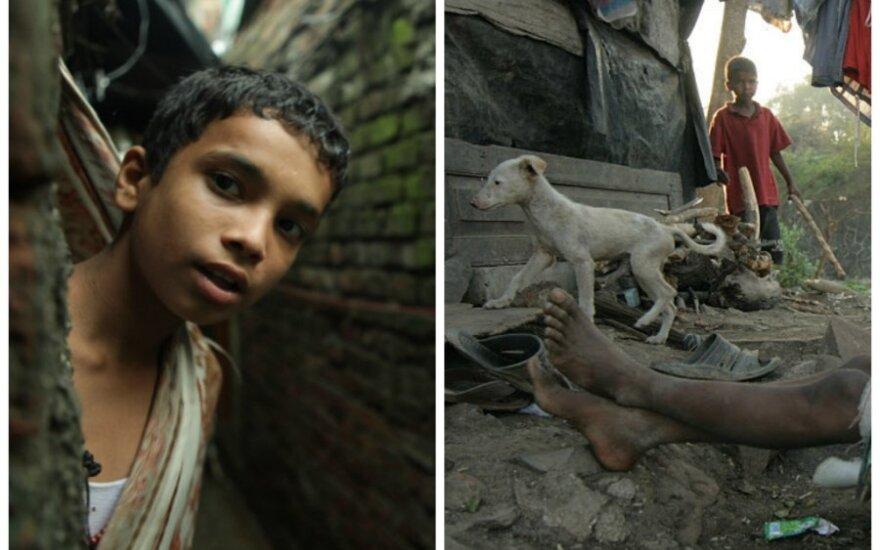 Kaip gyvena Indijos lūšnynų žmonės?