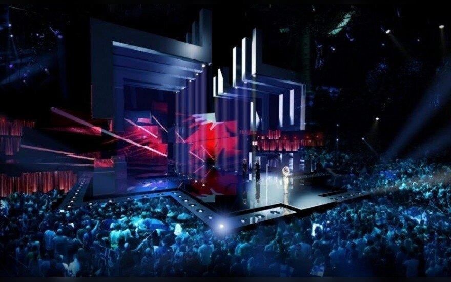 Eurovizijos scena