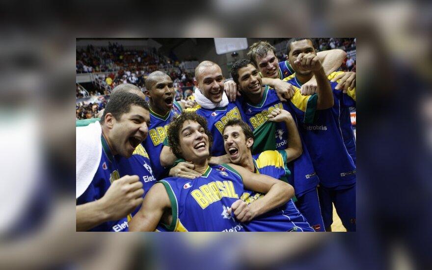 Brazilijos krepšininkai triumfavo Amerikos čempionate