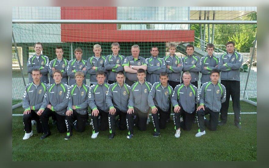 Lietuvos U-17 futbolo rinktinė