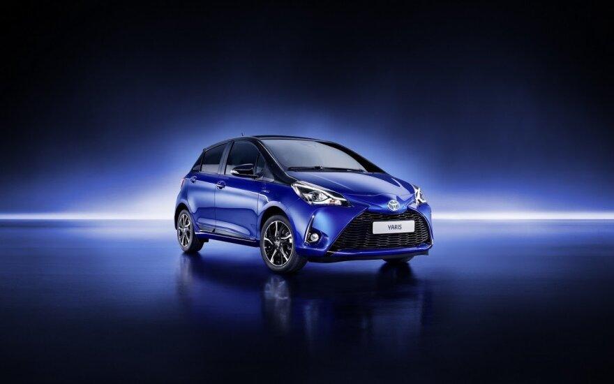 """Modernizuotas """"Toyota Yaris"""""""