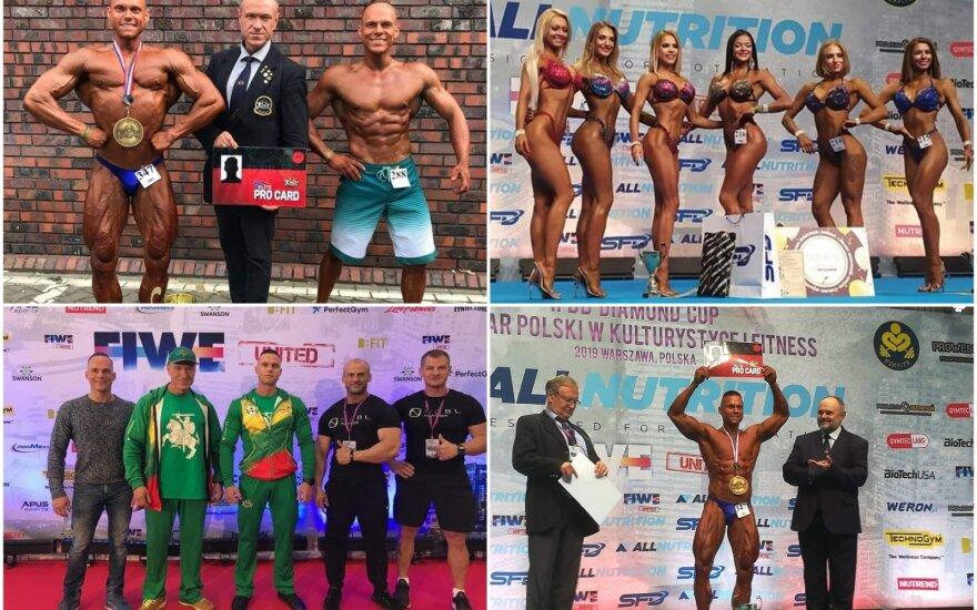 """Tarptautinis turnyras """"Diamond cup"""" Lenkijoje / FOTO: IFBB.lt"""