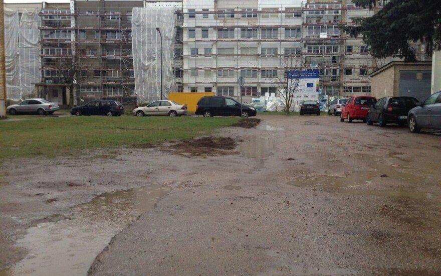 Duobėtas kiemas Kauno rajone