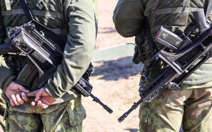 Vilniaus rajone vyks karinio rengimo pratybos
