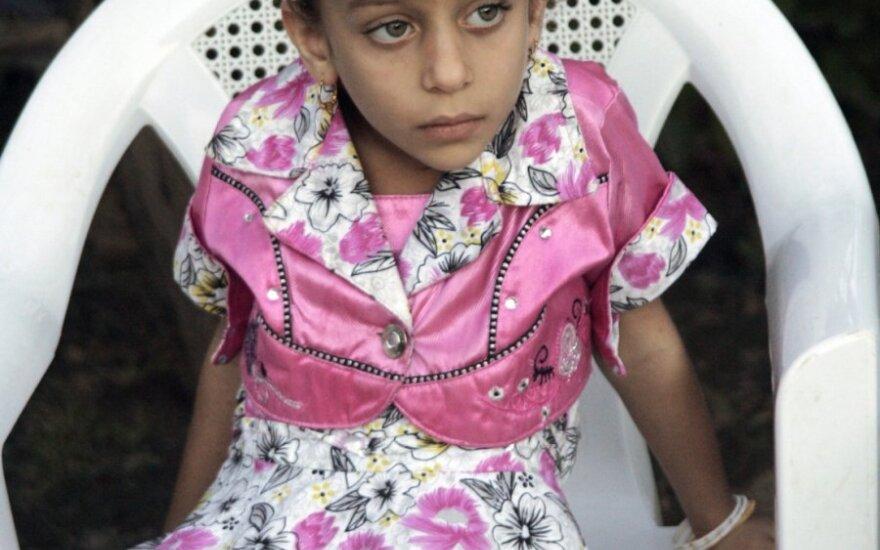 Irako Hadisos mieste skerdynes išgyvenusi mergaitė