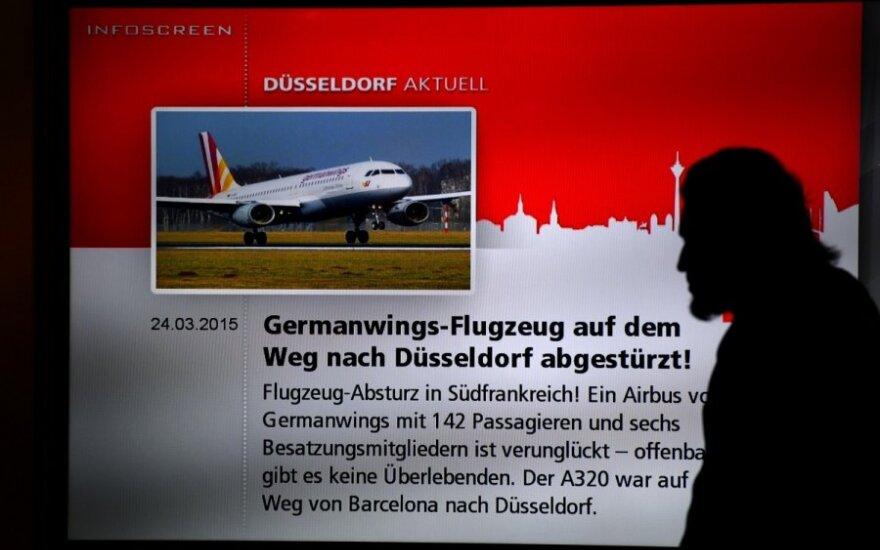 """Po """"Germanwings"""" lėktuvo sudužimo – smūgis """"Airbus"""" ir """"Lufthansa"""""""
