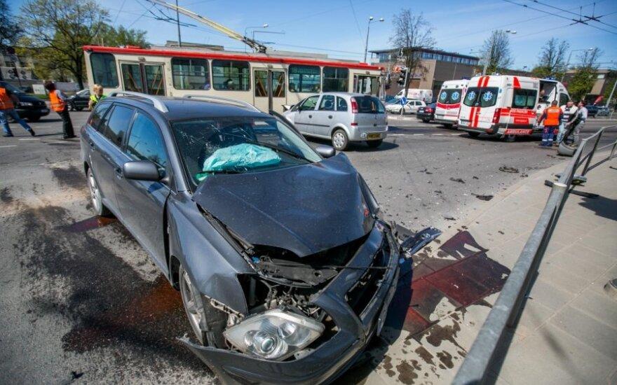 Automobiliams pavojingiausios Vilniaus gatvės