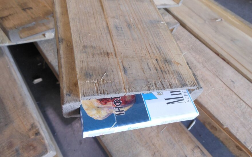 Volumes of detained smuggled cigarettes triple