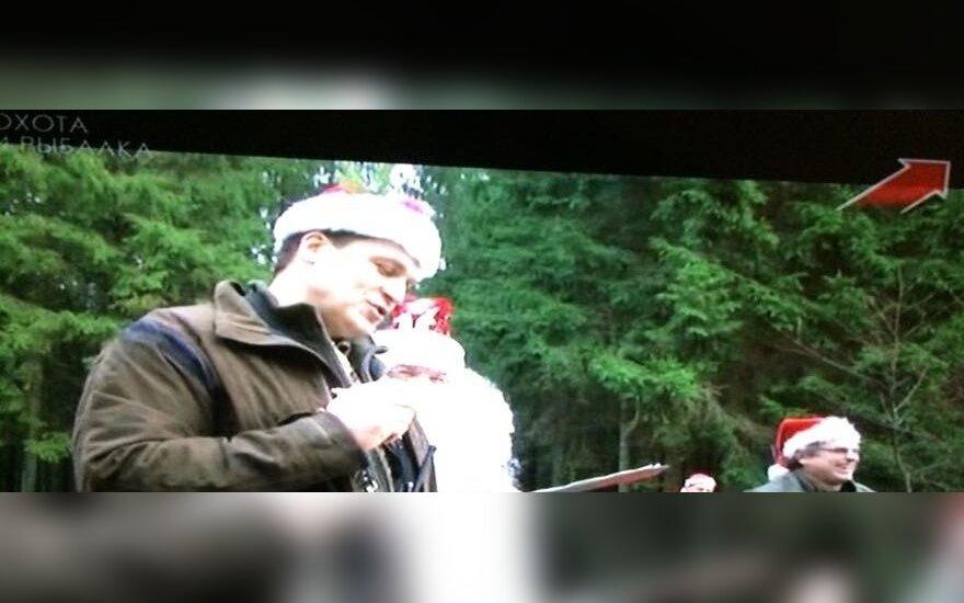 Arūnas Pukelis, pravarde Švinius, tapo Rusijos TV žvaigžde