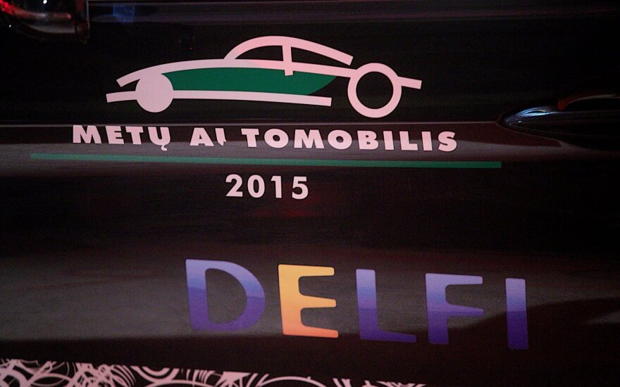 Metų automobilis 2015