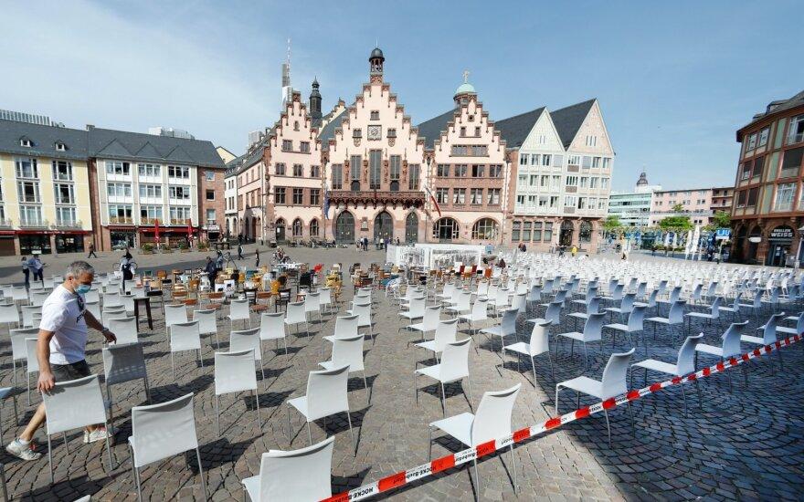 Vokietija planuoja, kaip atsities po COVID-19 krizės: užsimenama apie didesnę programą nei Maršalo planas