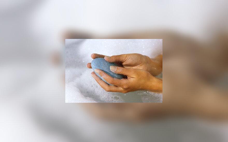 Švara, vanduo, muilas, plauti rankas