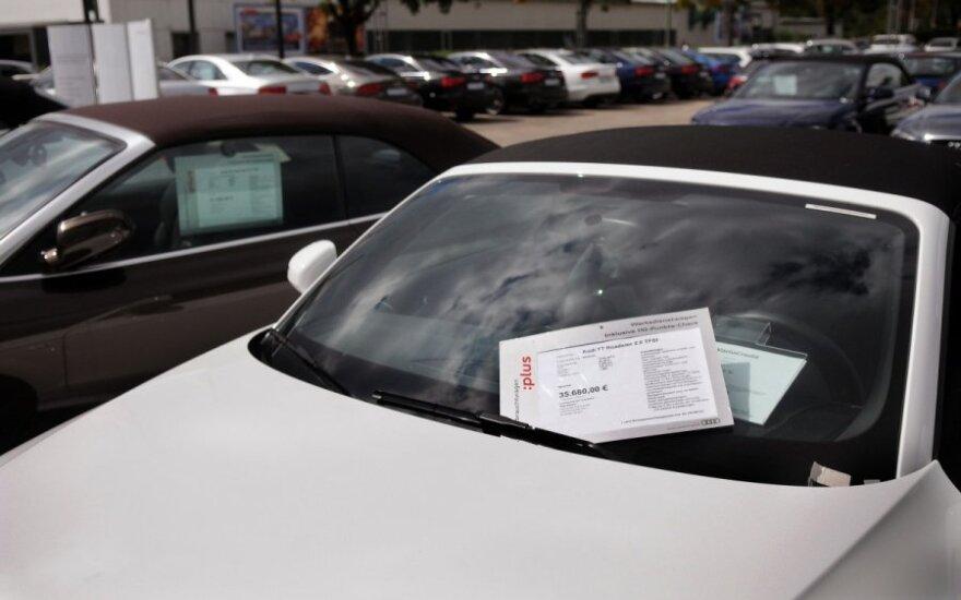 Automobilių kaina