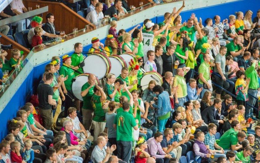 Lietuvos krepšinio rinktinės aistruoliai