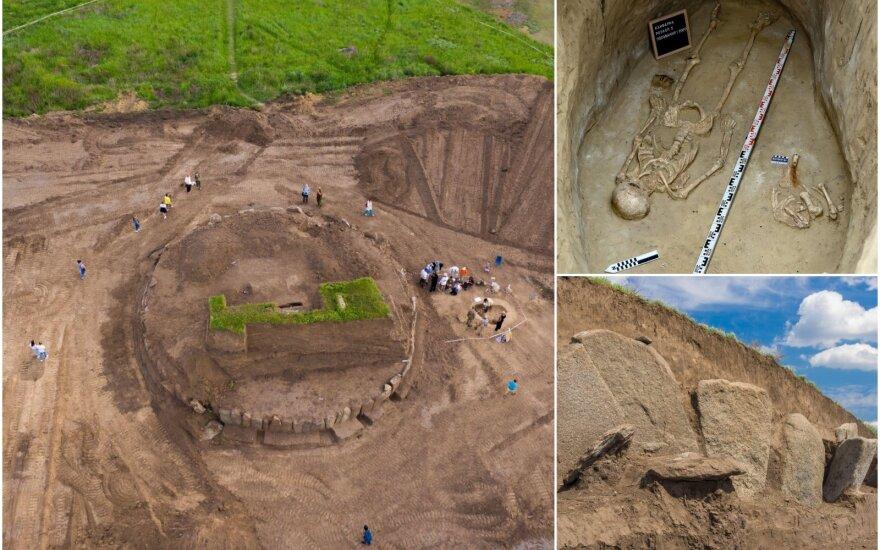 Ukrainoje aptikta maždaug 5000 metų kapavietė (Asociatyvi nuotr.)