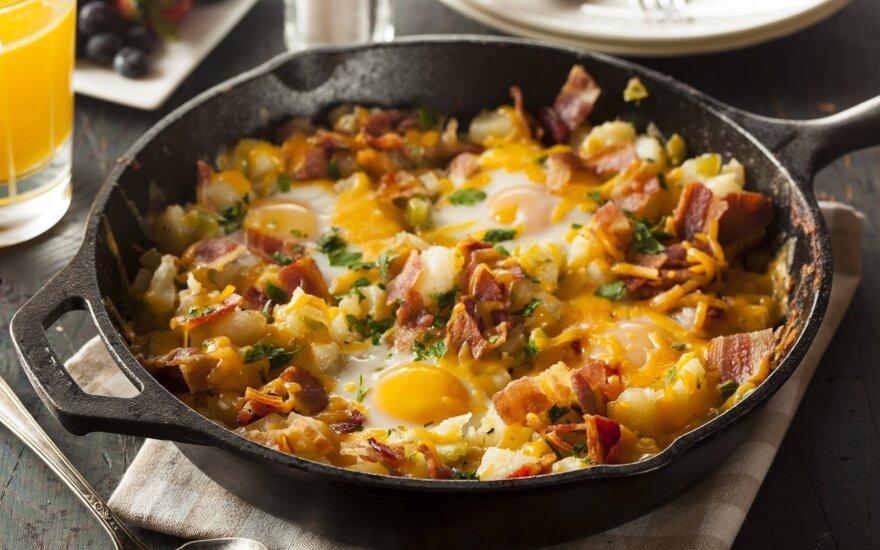 Kaimiška kiaušinienė