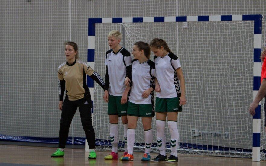 Moterų futsal čempionato kulminacijoje – vilniečių triumfas